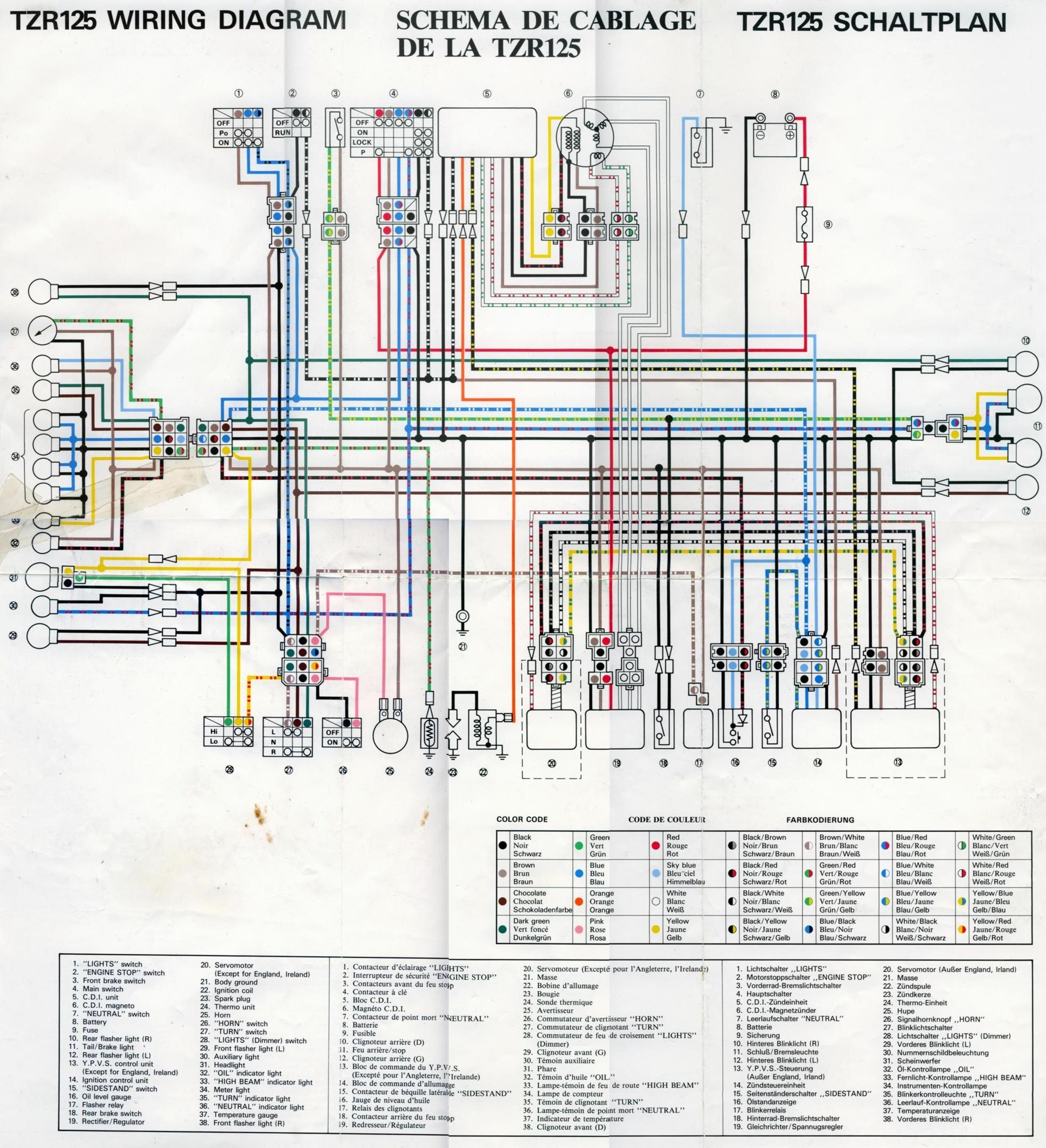 TZR125 Wiring Diagram 2 dj unreal's 2 stroke documentation storage site yamaha ttr 225 wiring diagram at nearapp.co